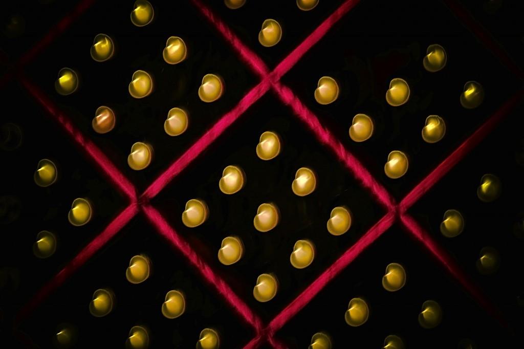Cave à vin floue